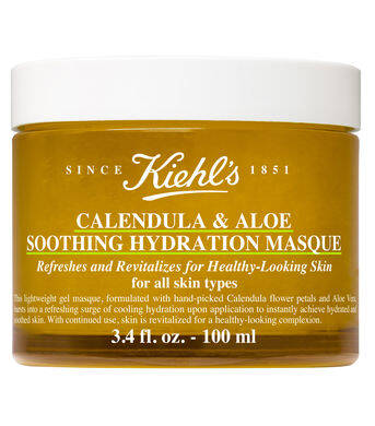 Calendula & Aloe Soothing Hydration Masque pour peau grasse