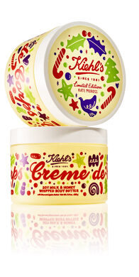 Limitierte Weihnachtsedition Crème de Corps Soy Milk & Honey Whipped Body Butter 2017