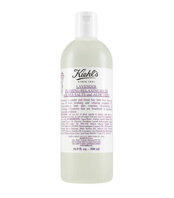 Lavender Foaming-Relaxing Bath with Sea Salts and Aloe